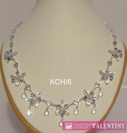 Luxusný krištáľový náhrdeľník - Obrázok č. 1