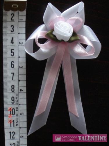 Pierko pre rodičov bielo ružové - Obrázok č. 1