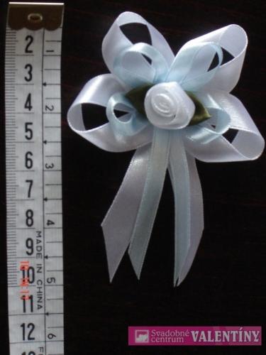 Pierko bielo modré jasné - Obrázok č. 1