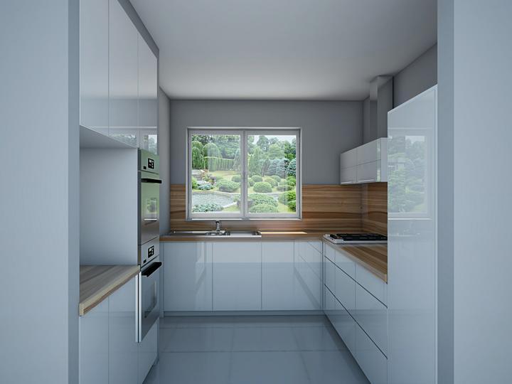 Vizualizácia kuchyne - Obrázok č. 1