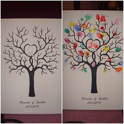 Tento svatební strom jsme... - Obrázek č. 1