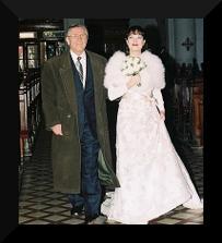 Tereza Kostková a Petr Kracik (na fotce s tatínkem)