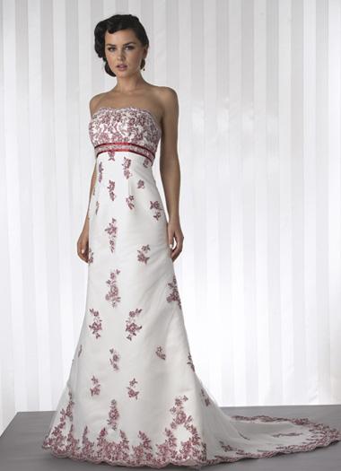 Krááásne červeno-biele šaty - Obrázok č. 7
