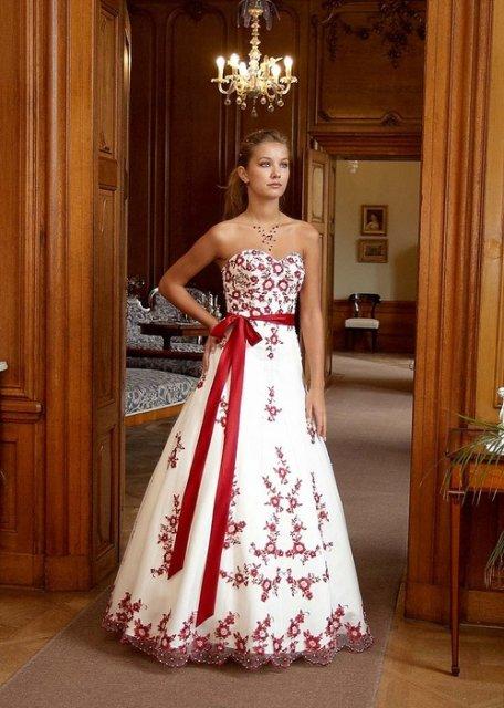 Svatební šaty - růžové i červené až do bordó - Obrázek č. 23