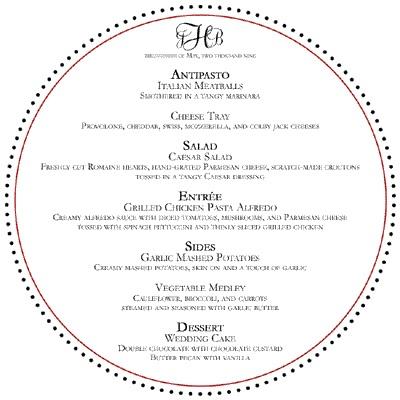 Oznamenia, menovky, pozvanie k stolu, menu, podakovanie - Obrázok č. 5