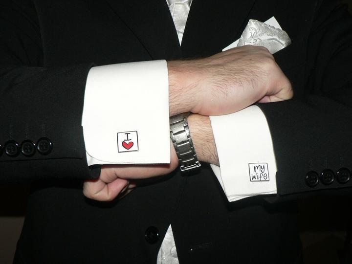 Moj buduci manzel v svadobnom obleku a veste - Obrázok č. 5