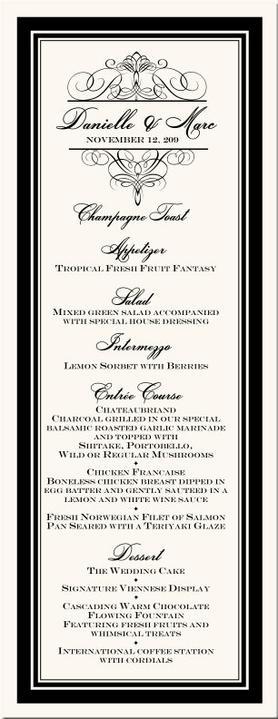 Oznamenia, menovky, pozvanie k stolu, menu, podakovanie - Obrázok č. 8