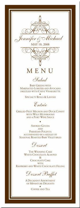 Oznamenia, menovky, pozvanie k stolu, menu, podakovanie - Obrázok č. 9