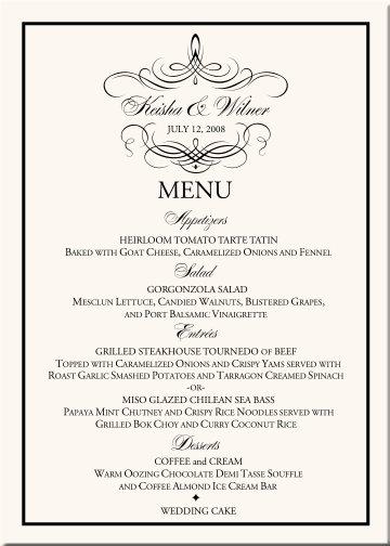 Oznamenia, menovky, pozvanie k stolu, menu, podakovanie - Obrázok č. 12