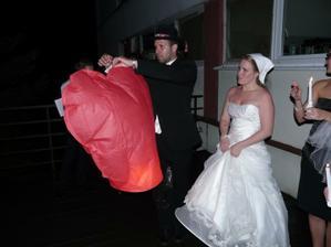 púšťanie balónov