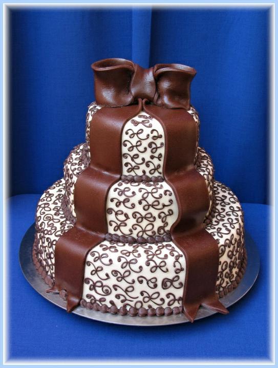 Svadobne torty, zakusky - Obrázok č. 83