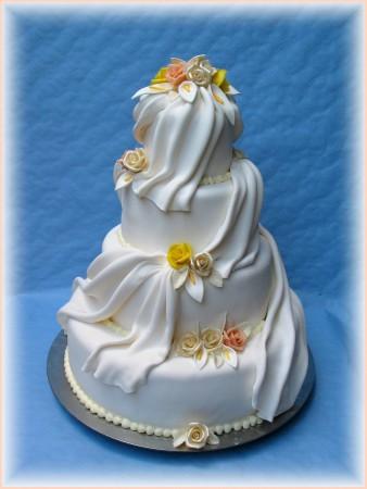 Svadobne torty, zakusky - Obrázok č. 89