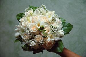 Svadobne kytice - Tito su velmi krasne