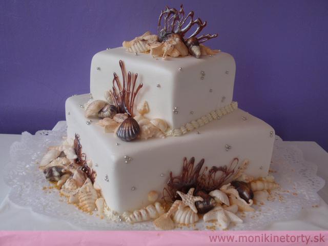 Svadobne torty, zakusky - Obrázok č. 35