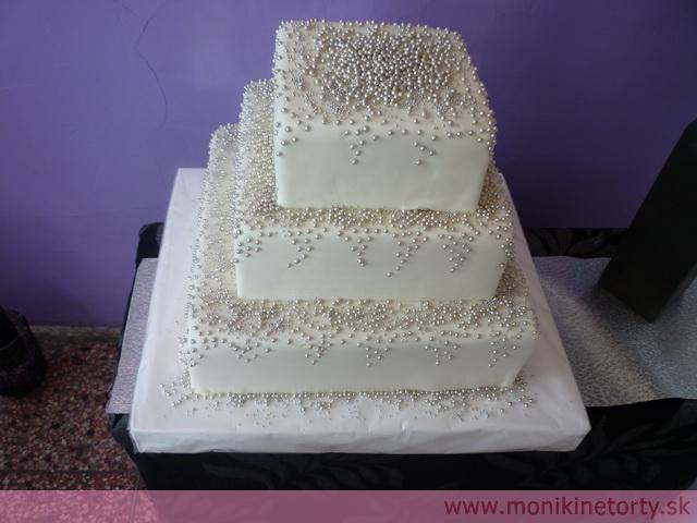 Svadobne torty, zakusky - Obrázok č. 55