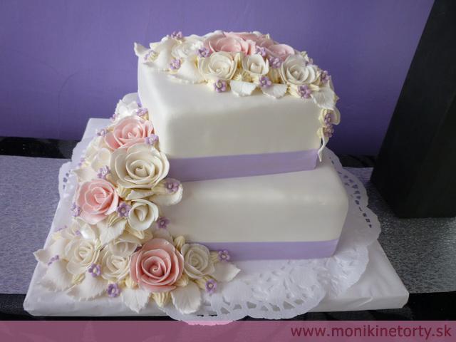 Svadobne torty, zakusky - Obrázok č. 57