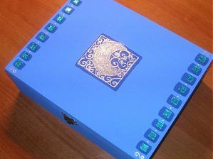 alebo takuto krabicku na pozdravy v zlato-bielej farbe?
