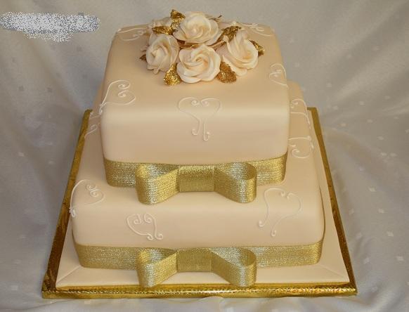 Svadobne torty, zakusky - Obrázok č. 27