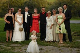 manželova rodina..