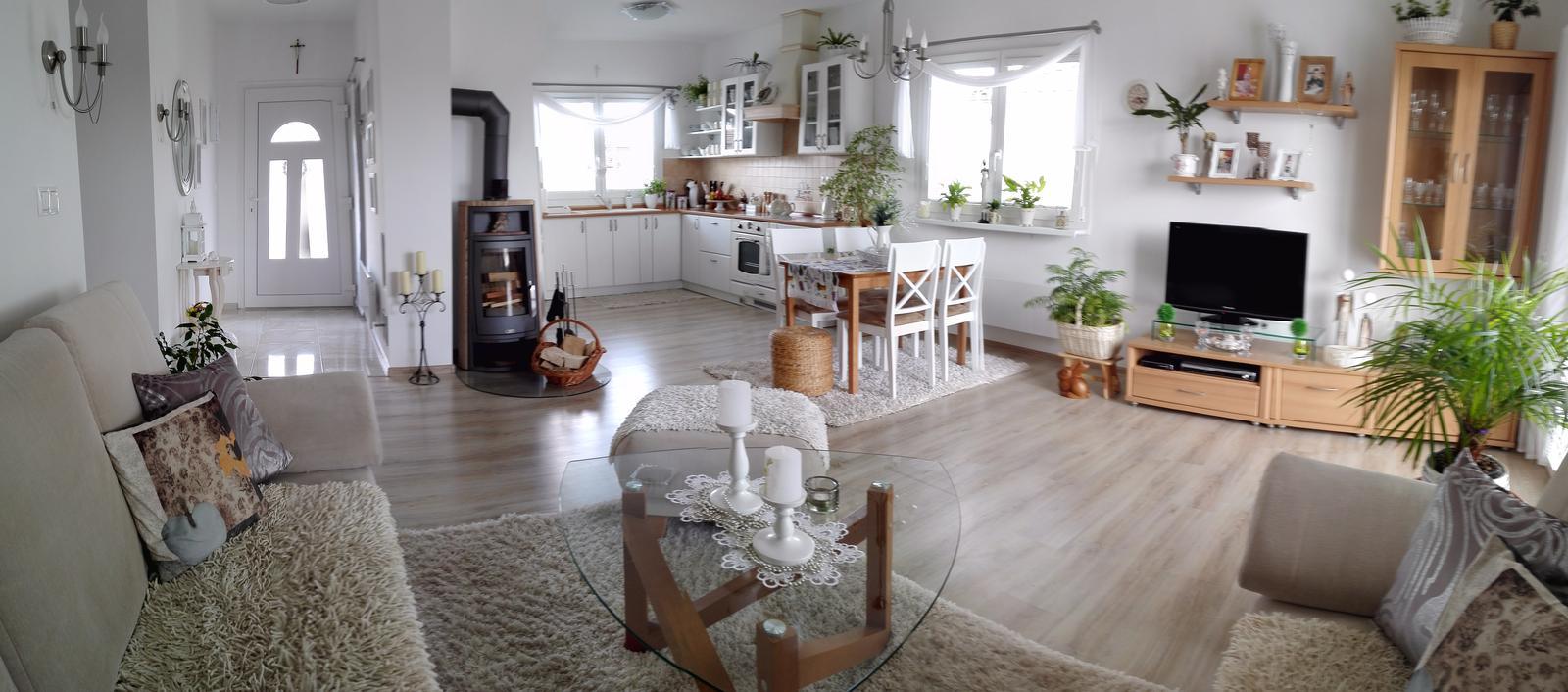 Dom v Dolnej Strede - Záber na celú dennú časť