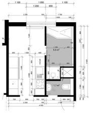 zmenené bytové jadro a kuchyňa