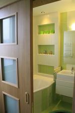 Posuvné dvere z kuchyne do kúpelne