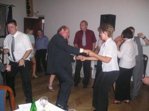 A tančilo se....