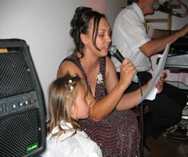 Za mikrofonem jako doma, moje sestřička