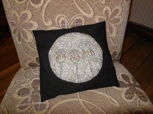 Dnešní výrobek - pohankový polštář :-)