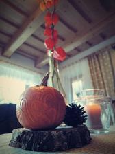 podzimní dekorace - inspirace z modré střechy