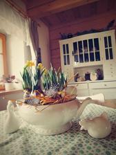 stará polévková mísa se hodila :-)
