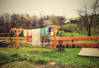 konečně mám prádelní šnůry :-)