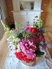kyticky ze zahrady, nadhera:)