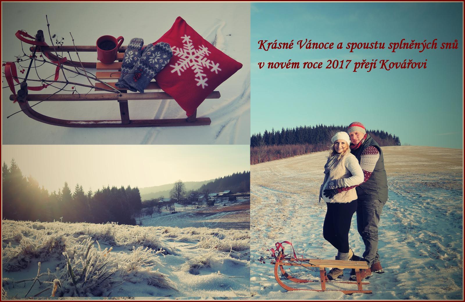 ♥ Krásné Vánoce všem na MODRÉ STŘEŠE ♥ - Obrázek č. 1