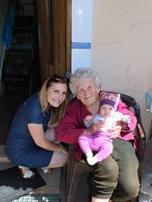 S prababičkou, věkový rozdíl 87 let