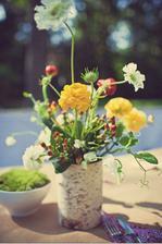 Moc se mi líbí tyhle kytky.