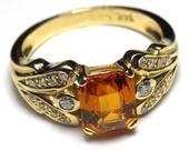 Prsteň Granát,