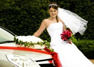 Naše svadobné autíčko.
