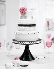 Omlouvám se za následující dortománií, ale v poslední době se neskutečně těším na svatební dort.... =)