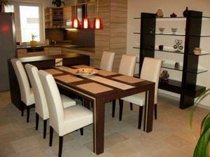 pěkný stůl a židle