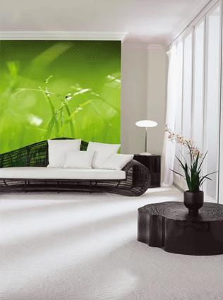 Domeček na venkově inspirace - pěkná kombinace barev do obýváku