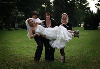 Není nad vhodnou svatební obuv :o)
