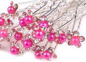 Vlásenka s růžovou perlou,