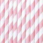 Brčka - růžovo - bílý proužek,