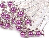 Vlásenka s fialovou perlou,