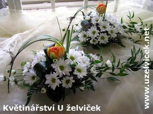 Květiny na svatební tabuly (2)