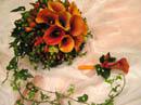 Svatební kytice pro nevěstu - to může být super, ale v bordó už ne tolik