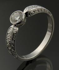 Zásnubní prsten - zajímavý