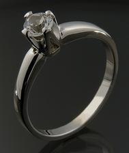 Zásnubní prsten - tenhle mám :)