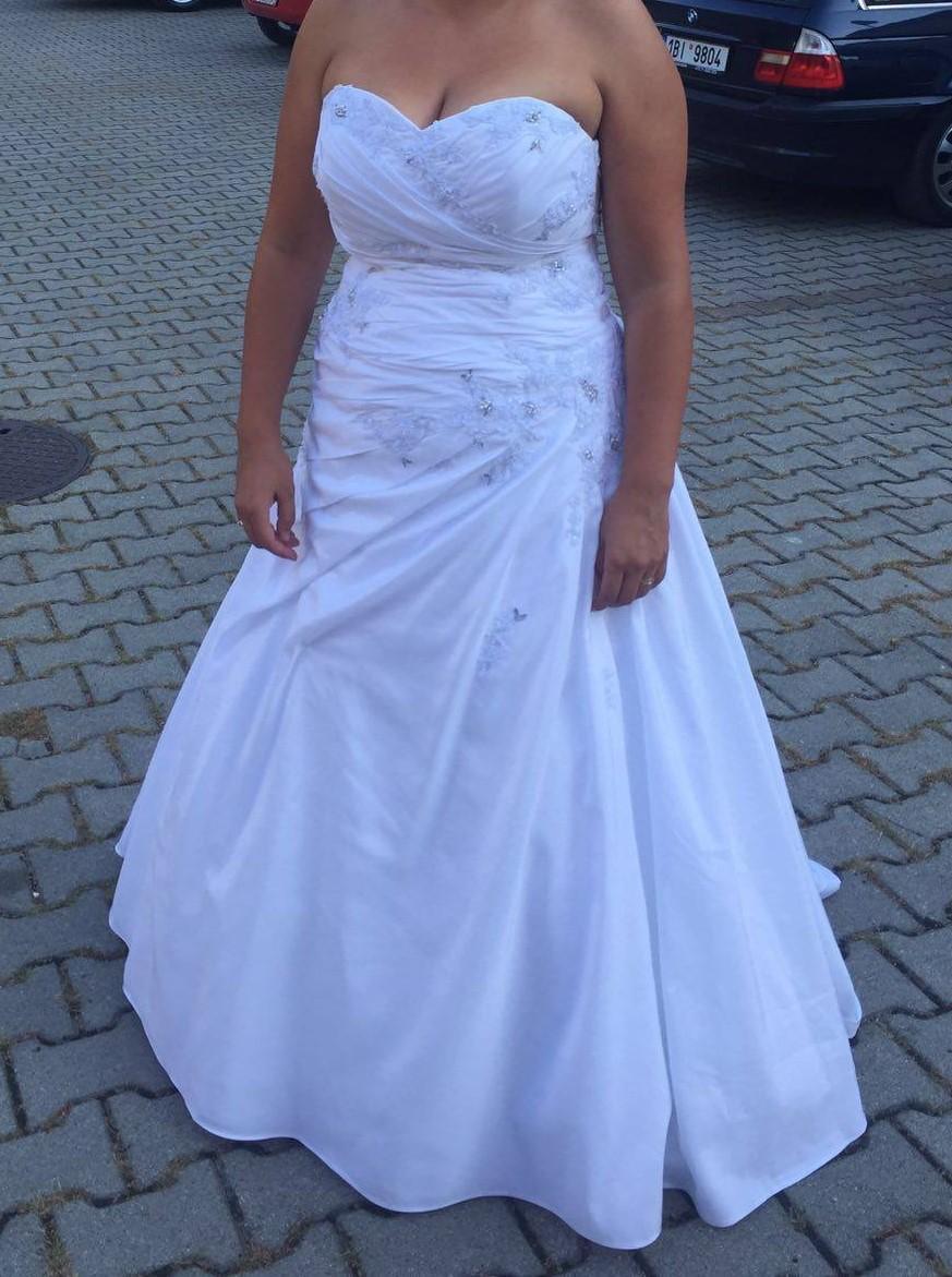 Miss Kelly svadobné šaty 40 - 42 - 44 -46 - Obrázok č. 1